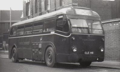 Q125 at Wimbledon Police Station