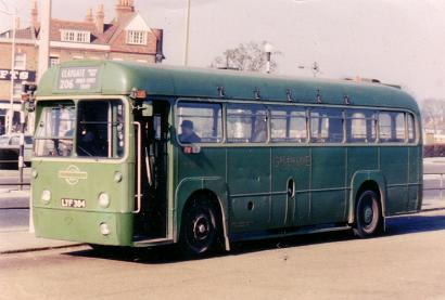 Green Line RF33 at Hampton Court