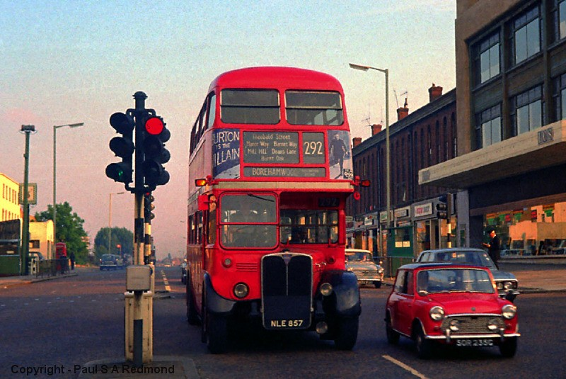 Colindale Running Day. Route 292