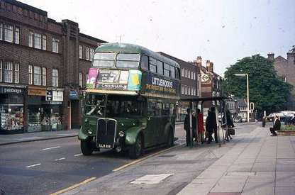 Carshalton High Street 1972