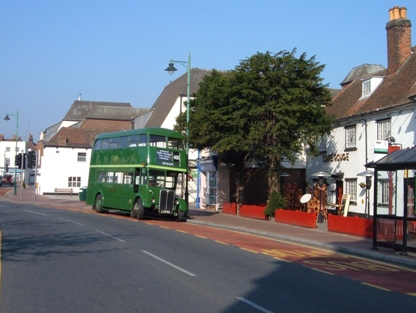 Epsom - the Yew Tree Restaurant stop